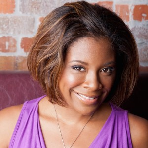 """Sadeqa Johnson, author of the new novel """"Love in a Carry-On Bag, due out March 2012."""